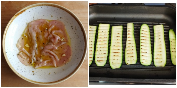 pollo + zucchine