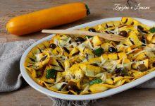 Zucchine gialle in insalata al profumo di menta