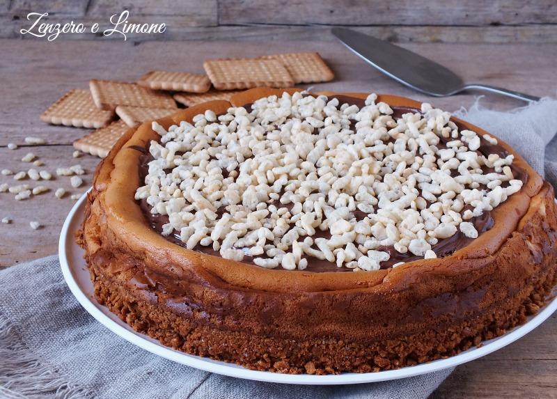 cheesecake senza gelatina - intera
