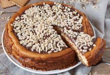 Cheesecake senza gelatina alla crema di nocciole
