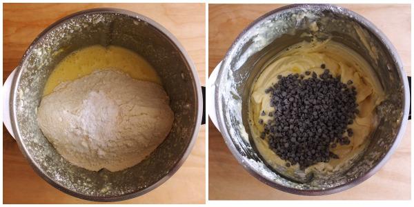 ciambella con gocce di cioccolato - procedimento 2