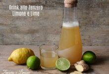 Drink allo zenzero, limone e lime