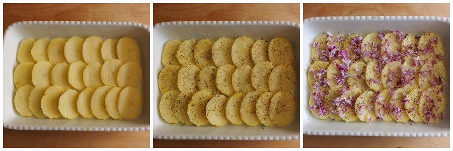 patate arraganate - procedimento 1