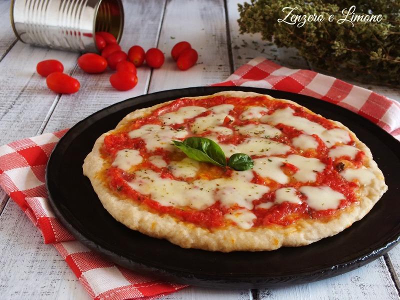 pizza in padella