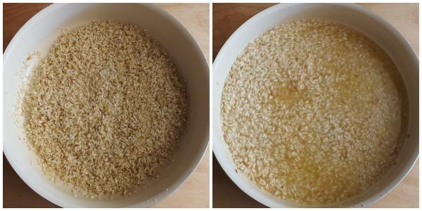 risotto al pomodoro - procedimento 1