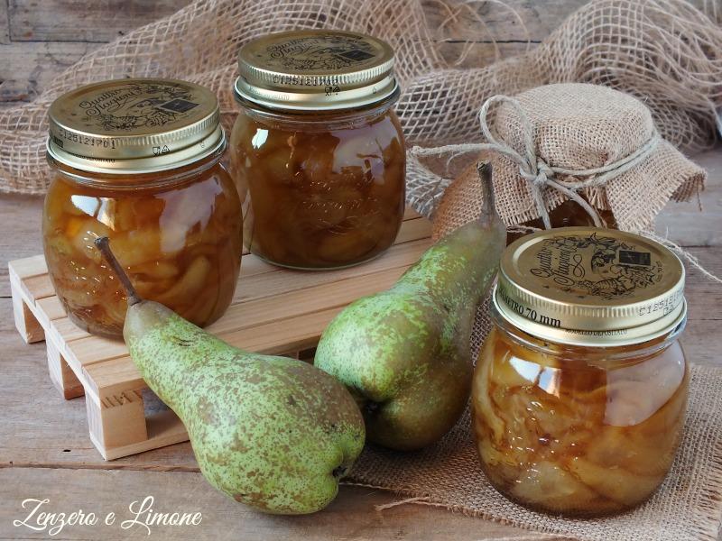 mostarda di pere