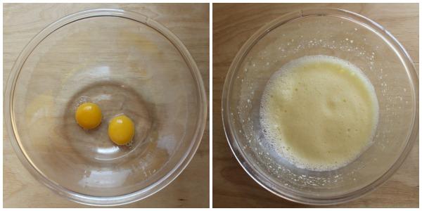 plumcake agli amaretti - procedimento 1