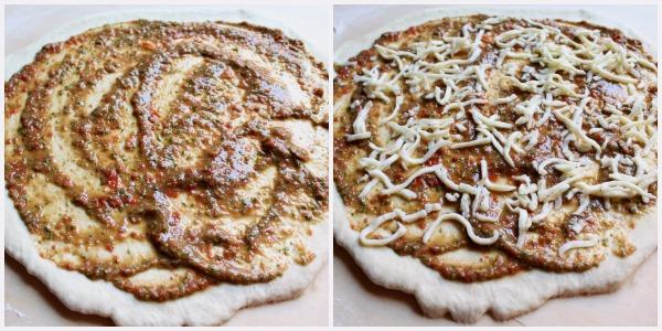 girelle di pizza - procedimento 1