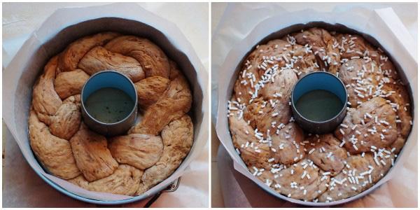 pane dolce alle mandorle - ciambella