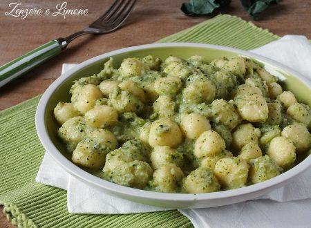 Gnocchetti alla crema di broccolo