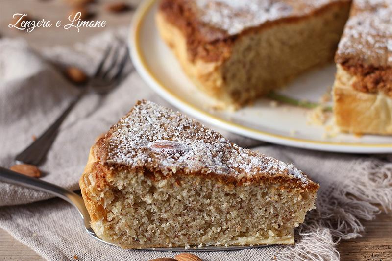 torta greca - fetta