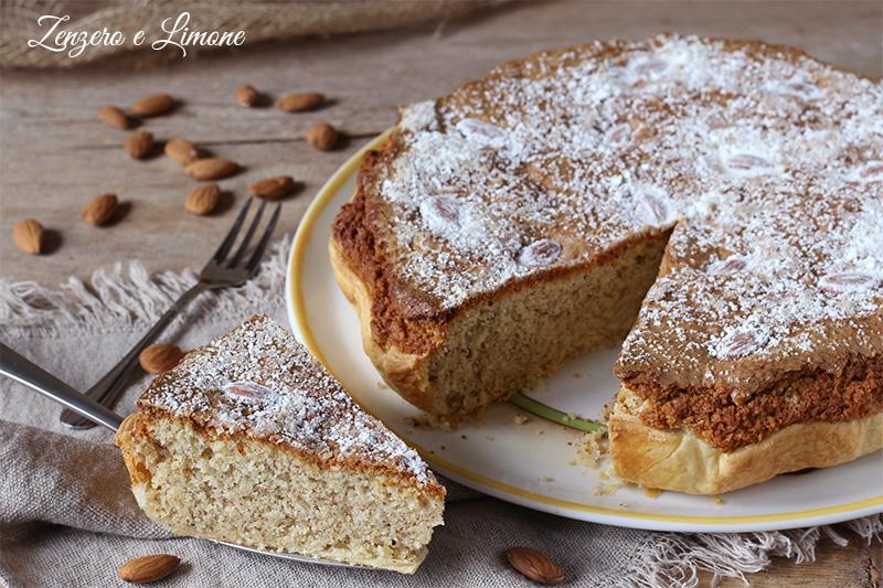 torta greca - tagliata