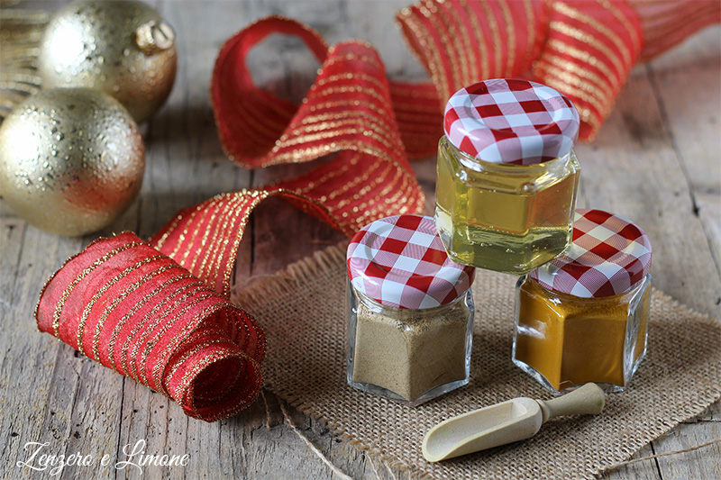 Regalo di Natale fai da te   carino, utile e benefico   Zenzero e