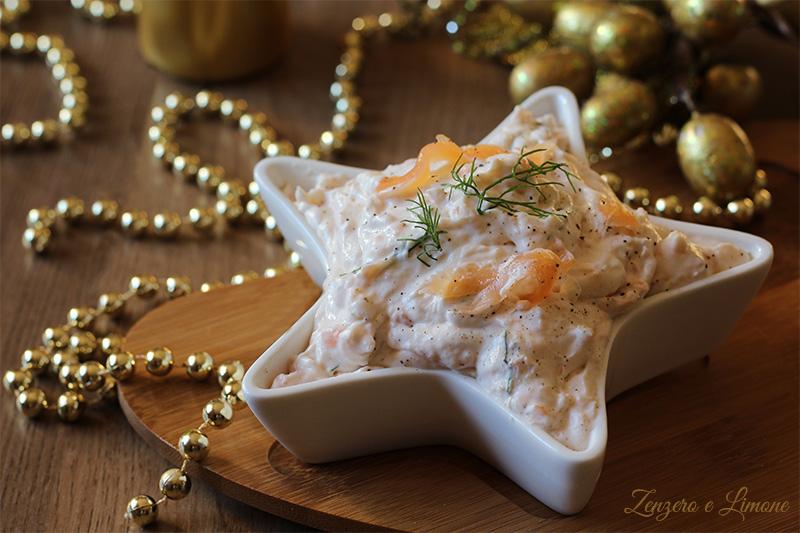 mousse di salmone - Natale