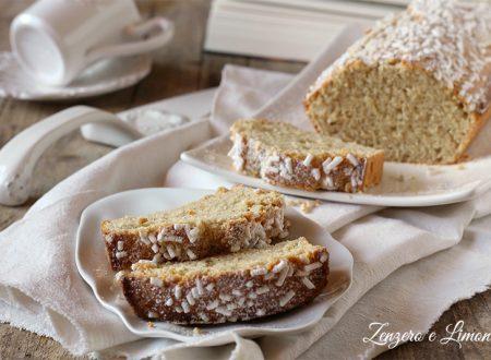 Plumcake ricotta e vaniglia