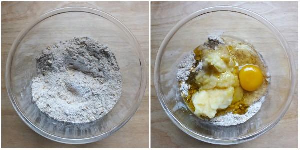 biscotti per cani alla mela - procedimento 1