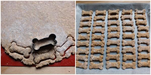 biscotti per cani alla mela - procedimento 2