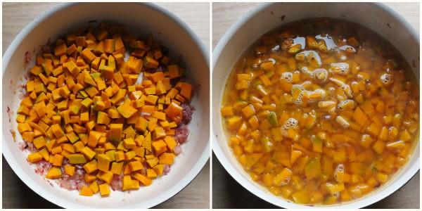 gnocchetti di patate alla zucca - procedimento 1