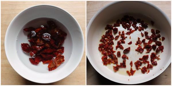 pasta agli spinaci - procedimento 1