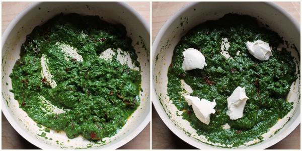 pasta agli spinaci - procedimento 2