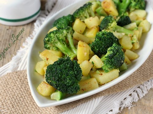 Patate e broccoli