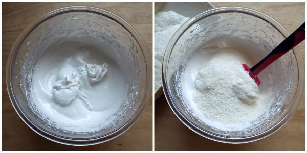 biscotti morbidi al cocco - procedimento 1