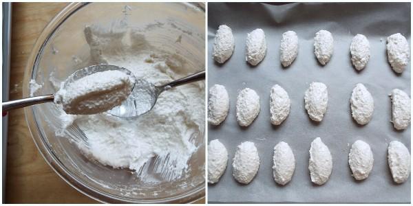 biscotti morbidi al cocco - procedimento 2