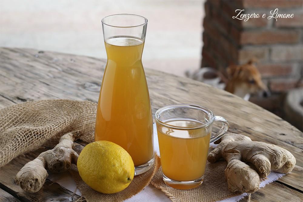 Ricetta per bevanda zenzero e limone