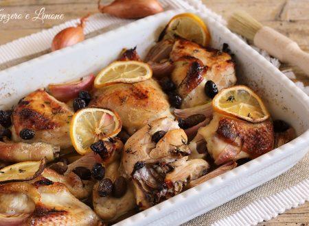 Pollo croccante alle olive taggiasche