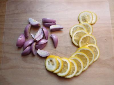 scalogni e limone