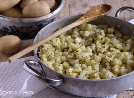 Patatas a schiscionera, ricetta contorno