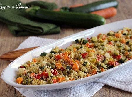 Cous cous light – ricetta vegetariana