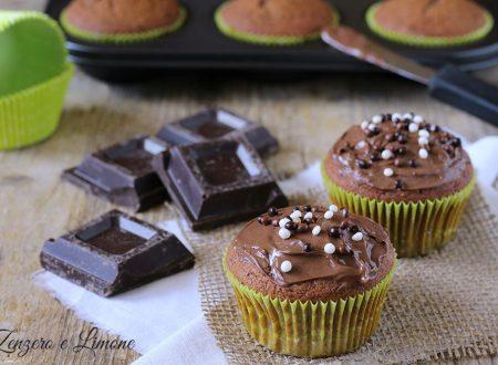 Cupcakes alla ricotta e cioccolato