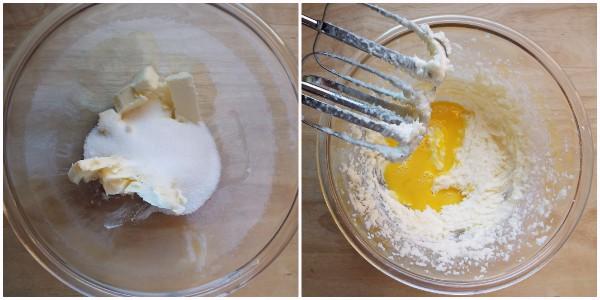 biscotti con il riso soffiato - procedimento 1