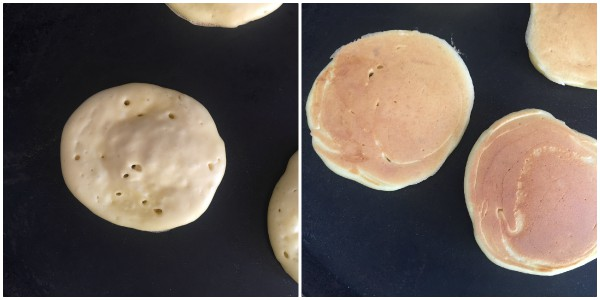pancakes salati - procedimento 3