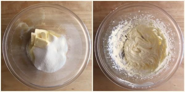 torta cioccolato e pesche - procedimento 1