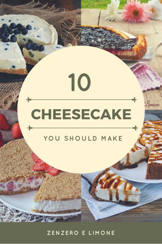 10 cheesecake you should make
