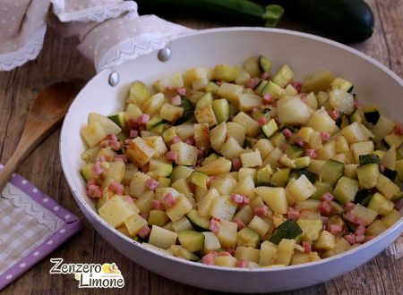 Padellata di patate e zucchine