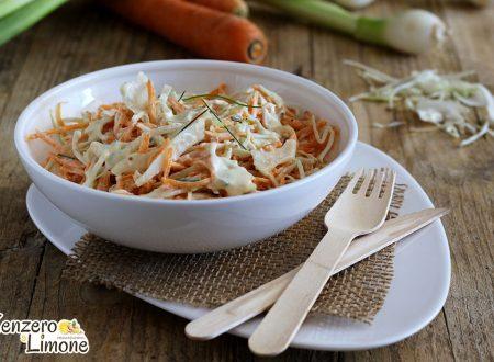 Coleslaw – insalata di cavolo e carote