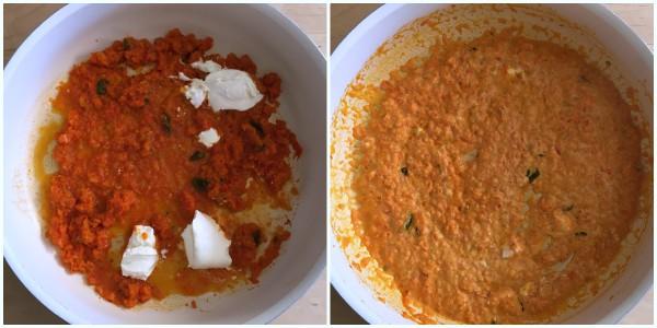 pasta cremosa ai peperoni - procedimento 1