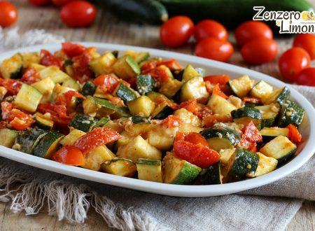 Zucchine al tegame, ricetta contorno