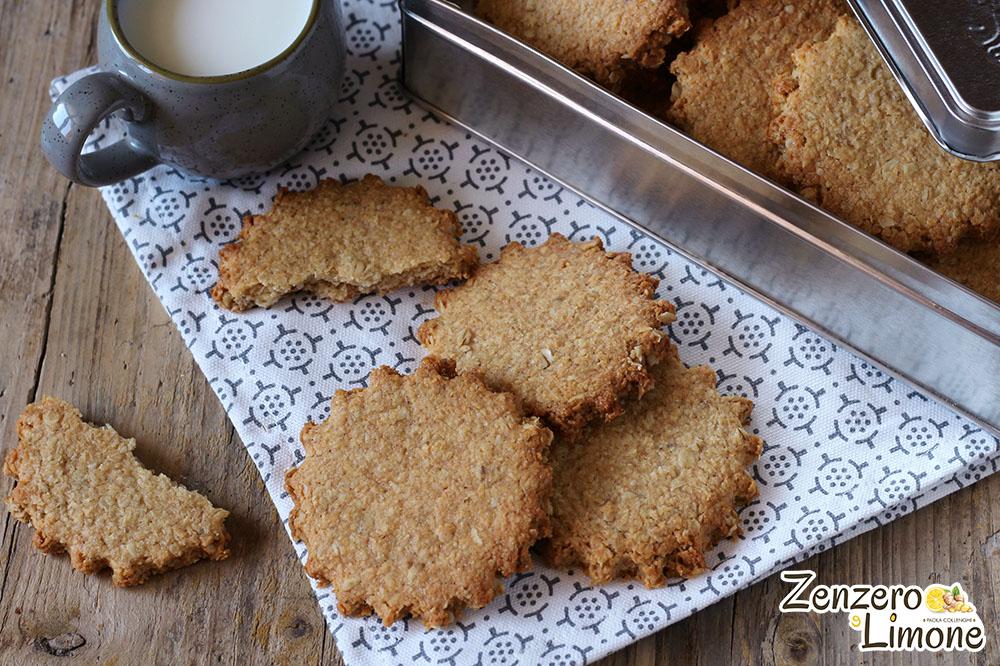 biscotti cocco e avena -