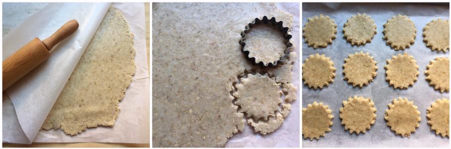 biscotti cocco e avena - procedimento 3