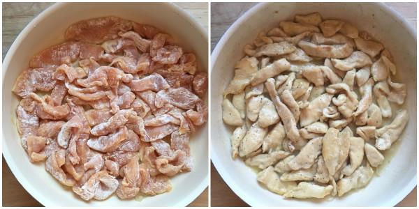 pollo ai finferli - procedimento 2