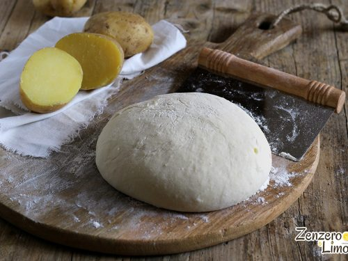 Impasto con le patate – ricetta base