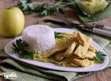 Pollo curry e riso basmati
