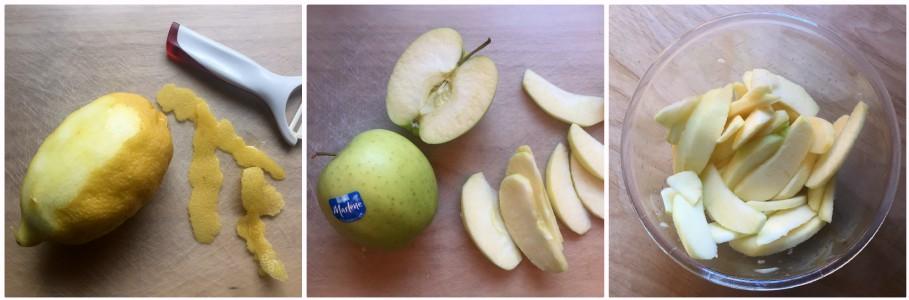 delizia alle mele - procedimento 1