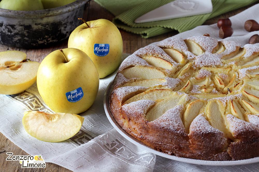 delizia alle mele