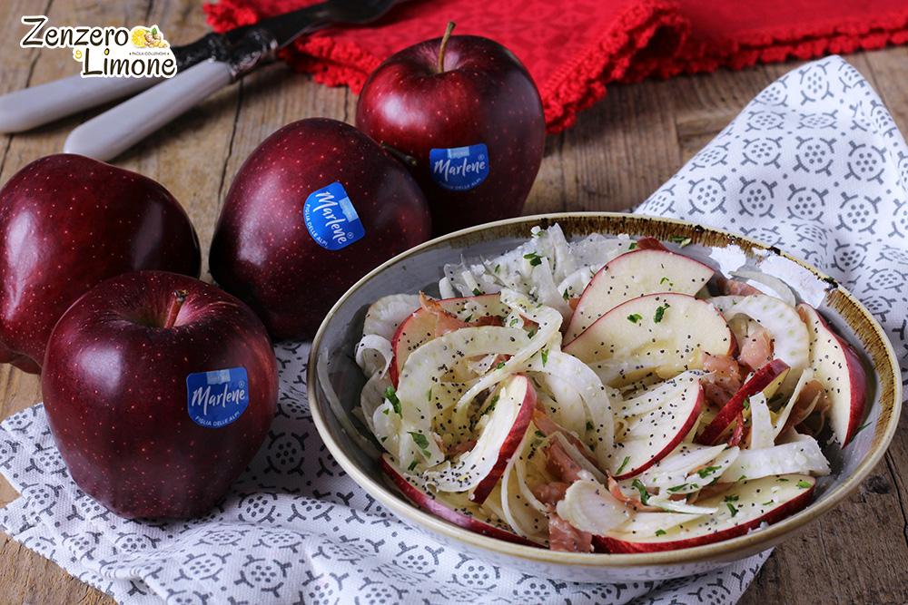 insalata di finocchi e mela