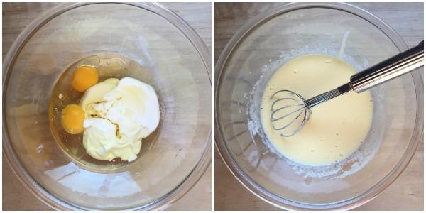 torta di mele fiorita - procedimento 2